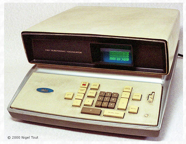 Old Singer/Friden calculator