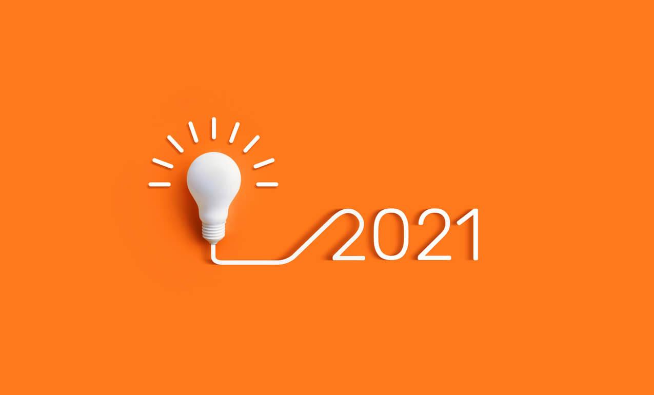 2021 lightbulb lit