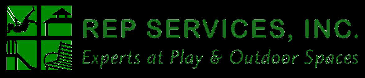 rep services logo green