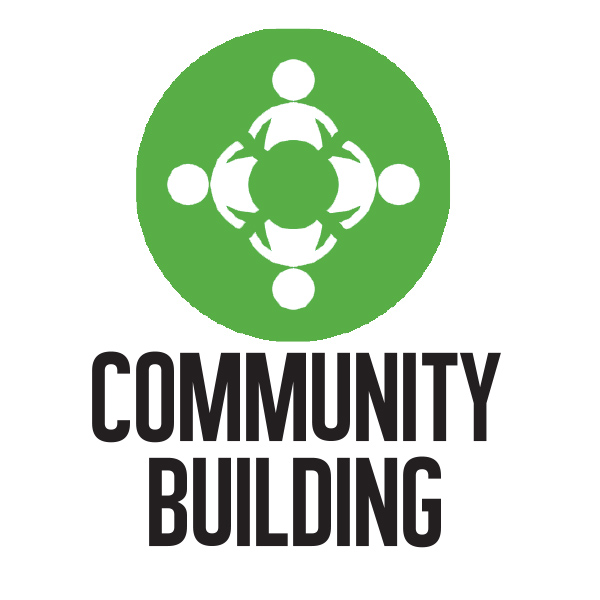 Community Building Button