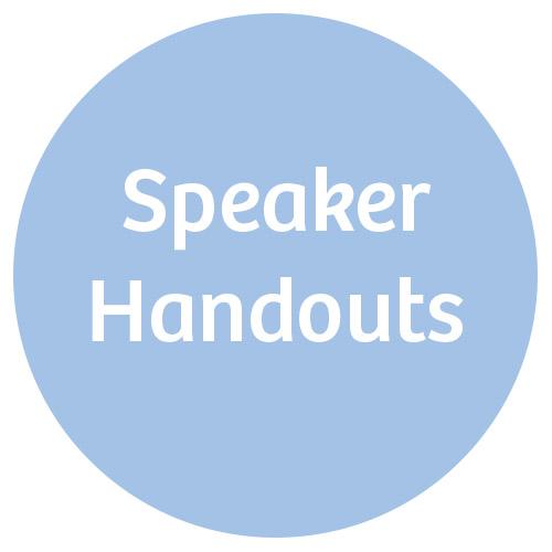 Speaker Handouts