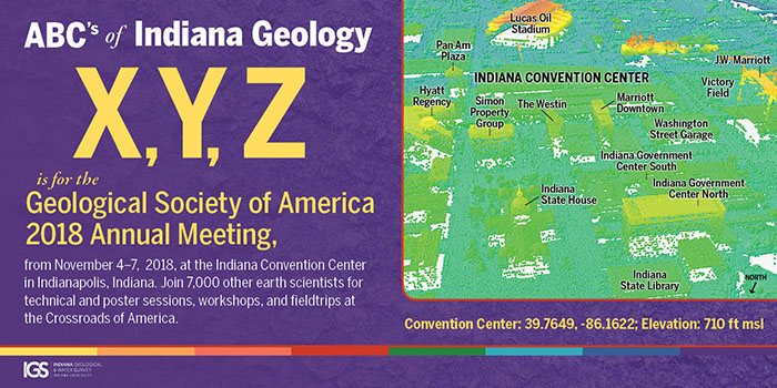 Geological Society of America Annual Meeting - GSA 2018