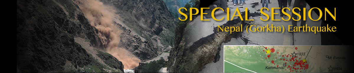 Special Session on Nepal Earthquake