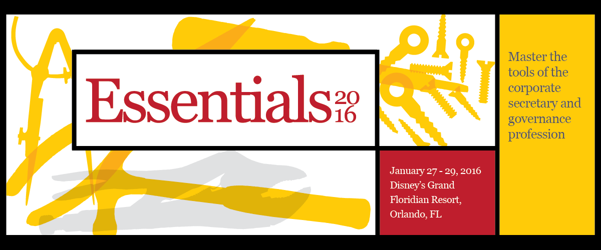 Essentials 2016 - Orlando, Florida