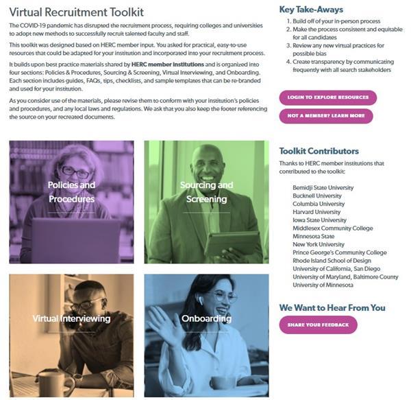 Virtual Recruitment Toolkit
