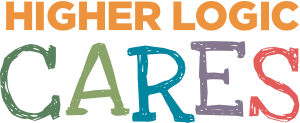 Higher Logic Cares Logo