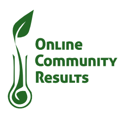 Online Community Results logo