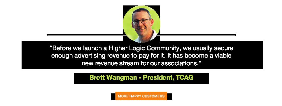 Brett Wangman - TCAG - Testimonial