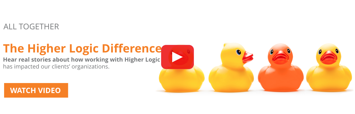 Higher Logic Difference Banner