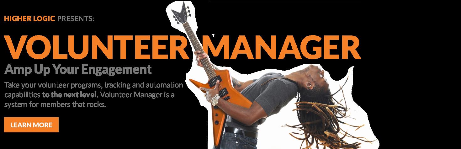 Volunteer Manager Banner