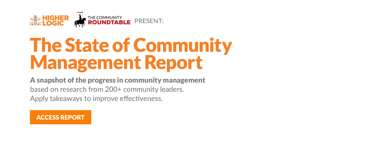 2015 State of Community Management Report Banner
