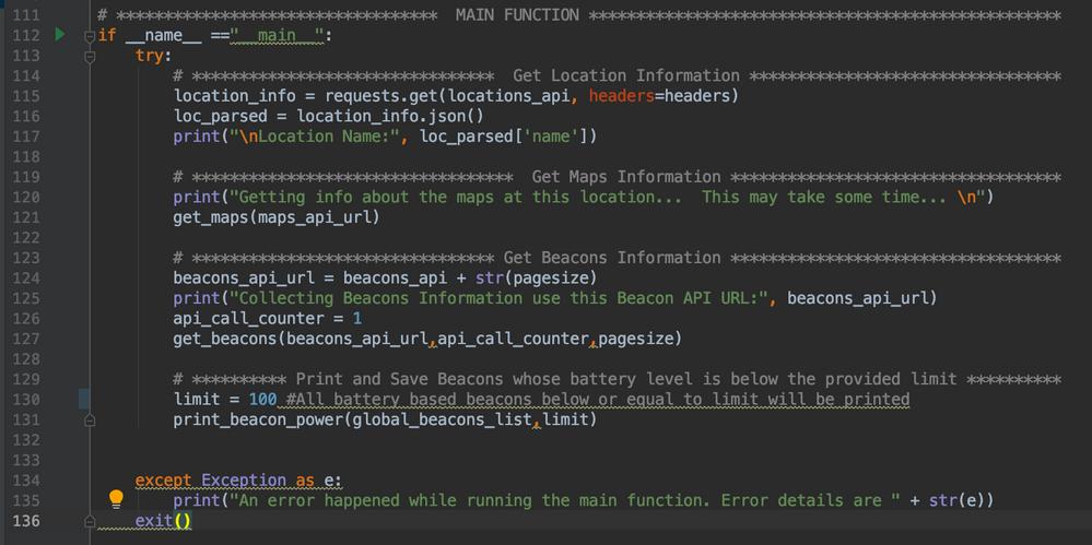 Script Main Function Logic