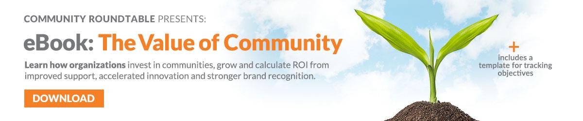 Value of Community eBook