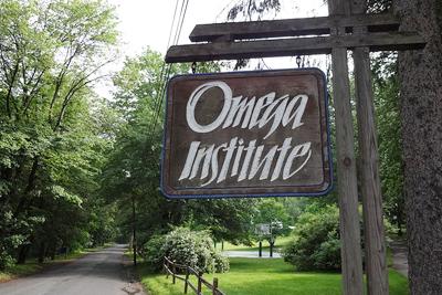 Omega Institute Sign
