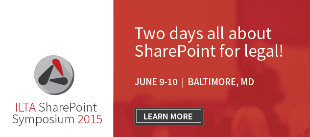 2 Days all about SharePoint for Legal