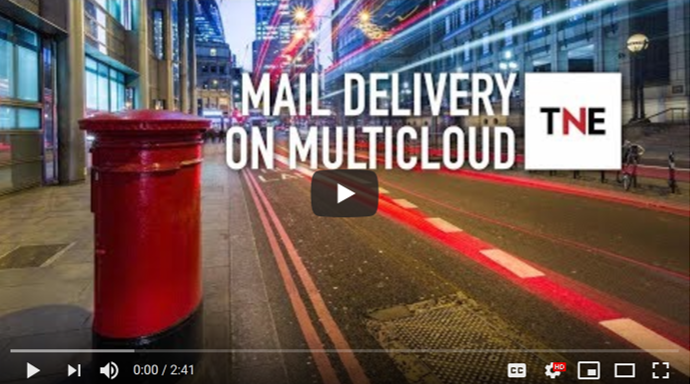 Mail Delivery on Multicloud