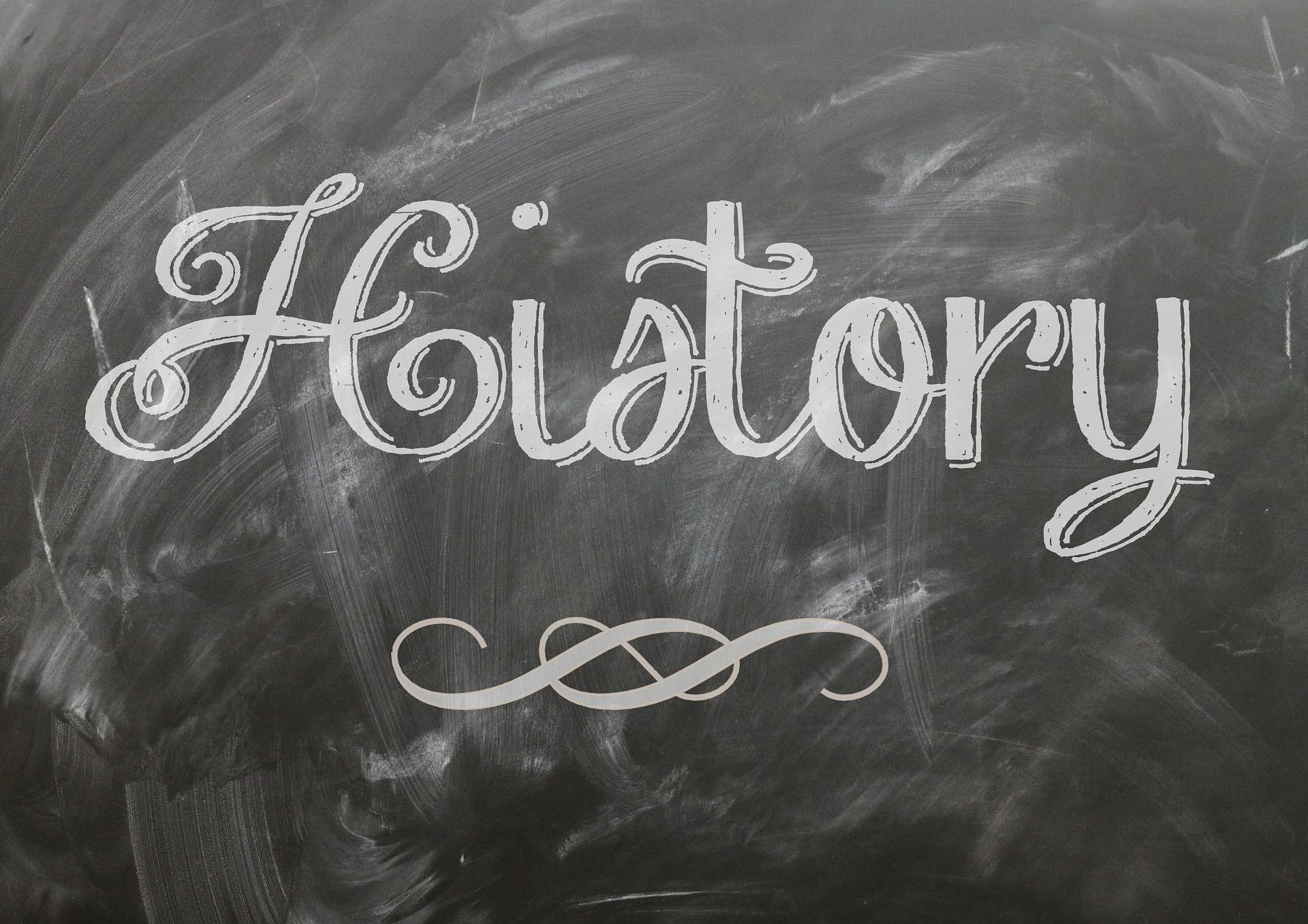 History on blackboard