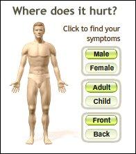 Symptom navigator
