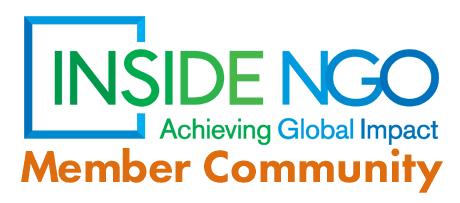 InsideNGO Member Community