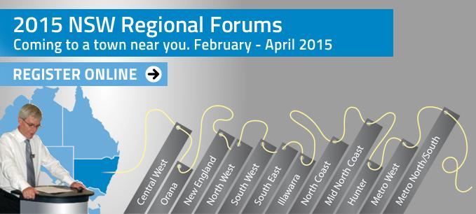 2015 NSW Regional Forums