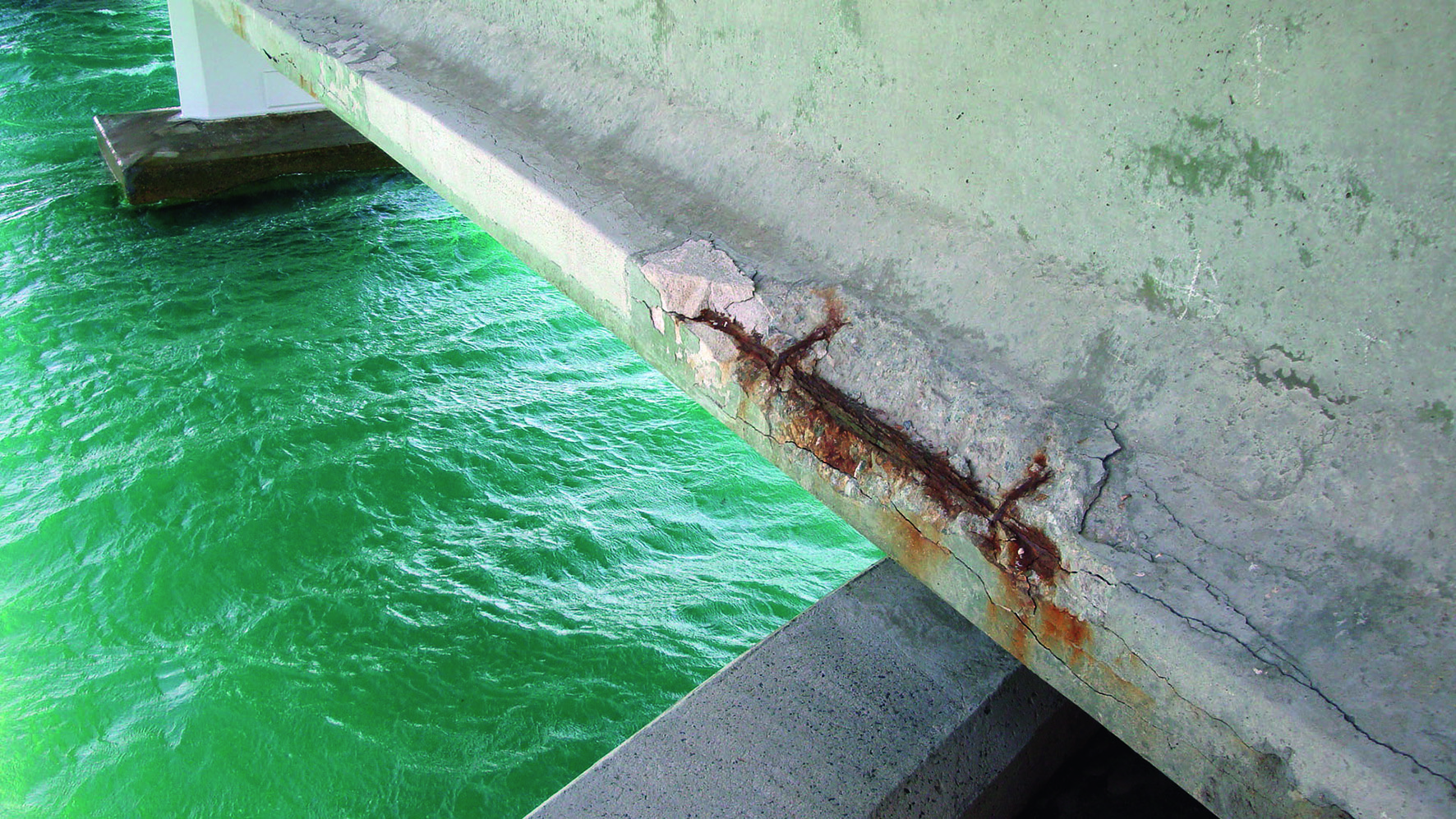 In addition loose damaged pieces of spalled concrete falling from buildings and structures is a real safety risk