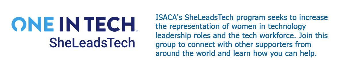 ISACA SheLeadsTech