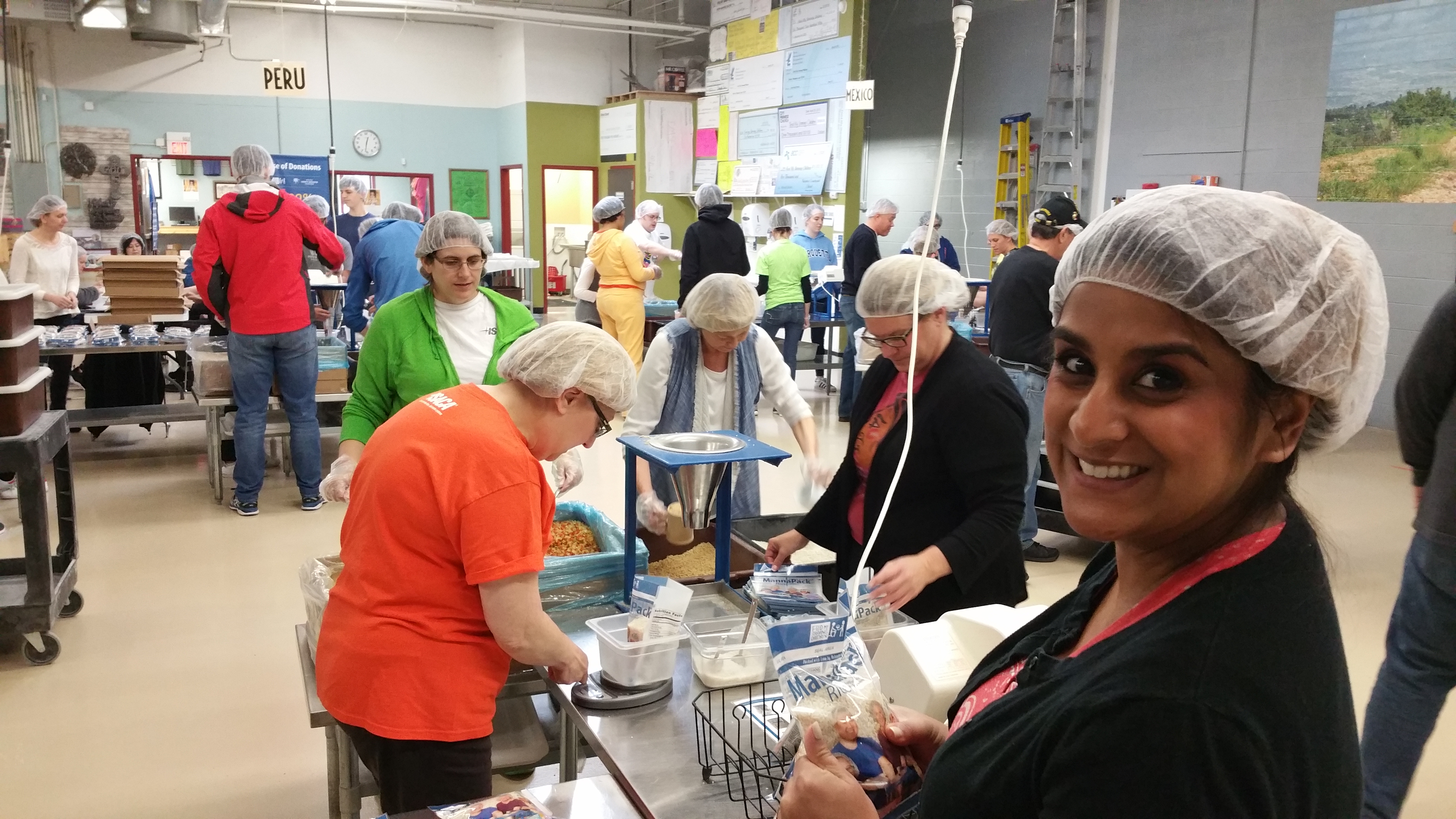 Feed My Starving Children outing