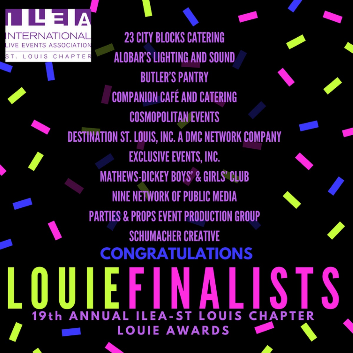 2017 Louie Award Finalists