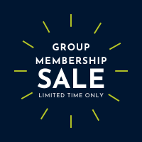 Group membership sale. Limited time only.