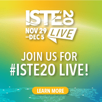 Join us for ISTE20 Live!