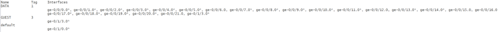 Juniper forum post show vlan command.PNG