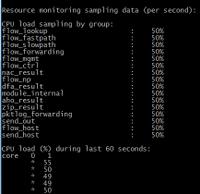show running resource-monitor