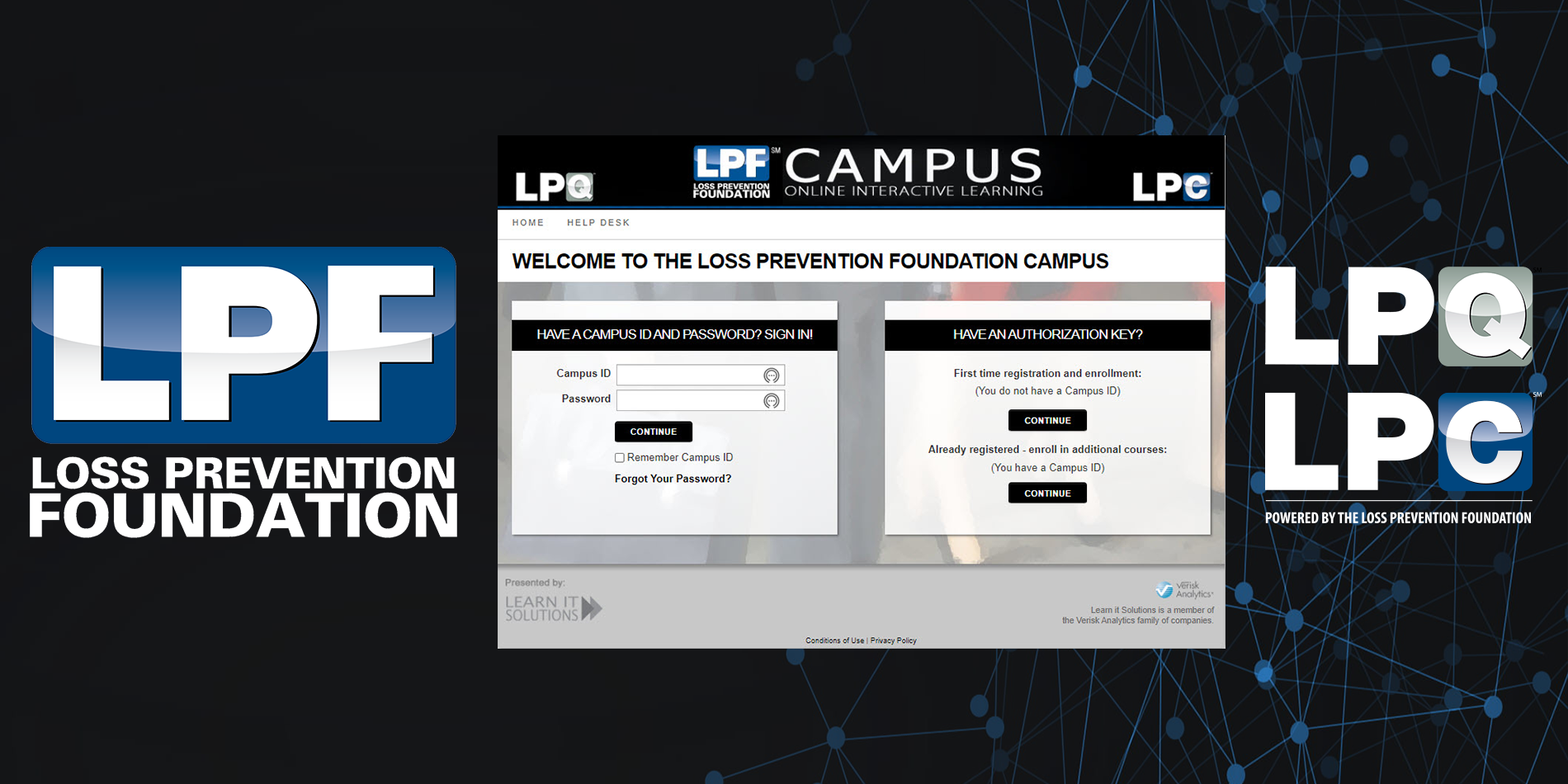 LPQ/LPC Course Campus