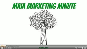 MAIA Marketing Minute Video