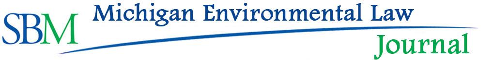 MI Environmental Law Journal