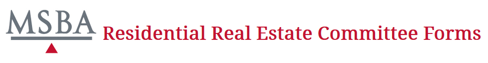 ResidentialRealPropertyForms