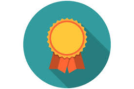 Award ribbons flat icon | Flat icon, Award ribbons, Icon