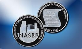NASBP Coin
