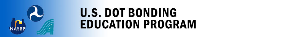 US DOT Bonding Education Program