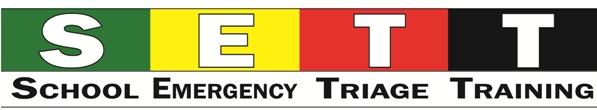 SETT School Emergency Triage Training