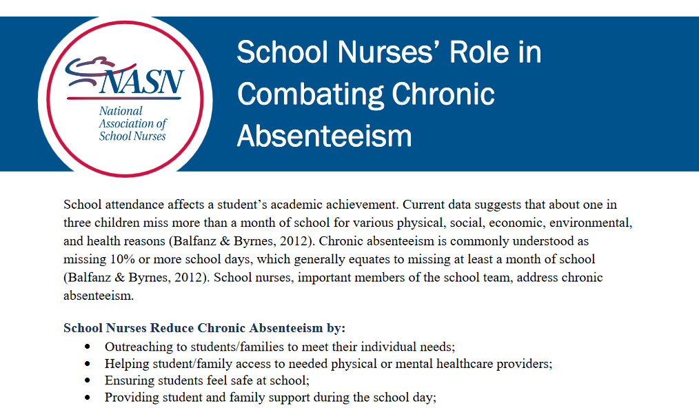 absenteeism essay 3 Student absenteeism is a serious issue in public education  these chronically  absent students included 3 million high school students (18.