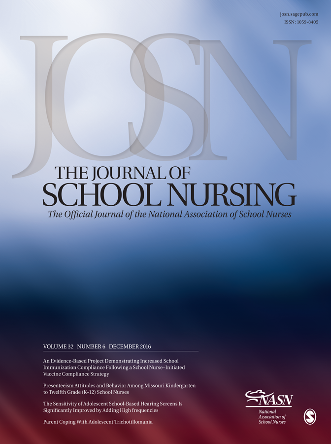 The Journal of School Nursing - A Journal