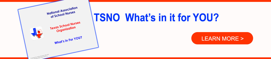 TSNO, What's in it for YOU?  Learn more.