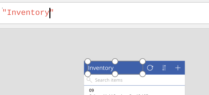 Mobile App to Count Inventory with Excel and Powerapps
