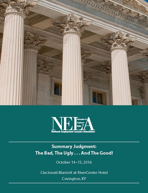NELA Seminar Brochure