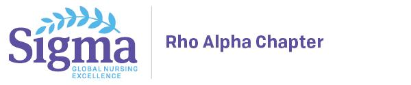 Rho Alpha Chapter