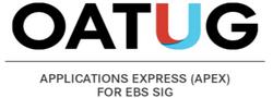 APEX for EBS SIG