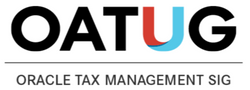 Oracle Tax Management SIG