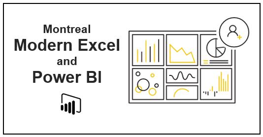 Montreal Modern Excel and Power BI - Power BI User Group