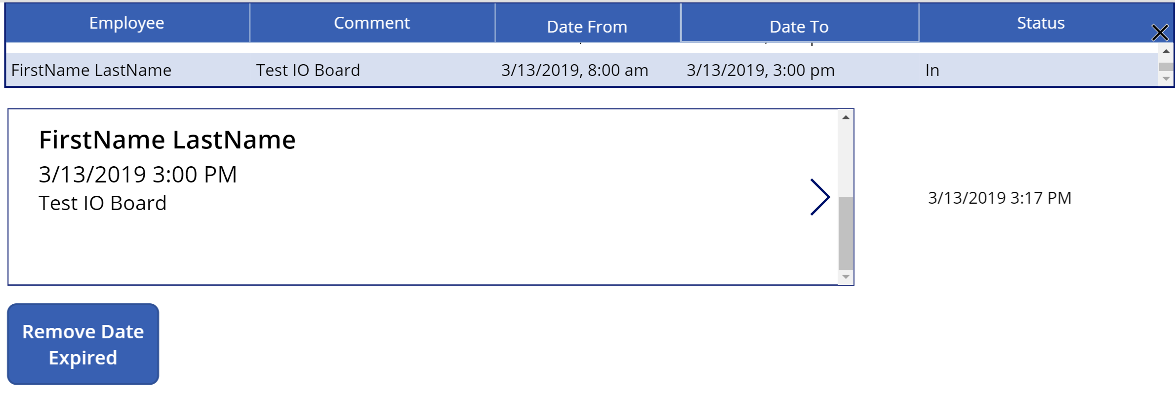 Deleting a Row from SharePoint List with Past Due Dates